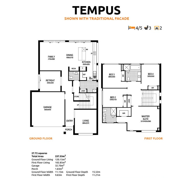 Tempus Floor Plan