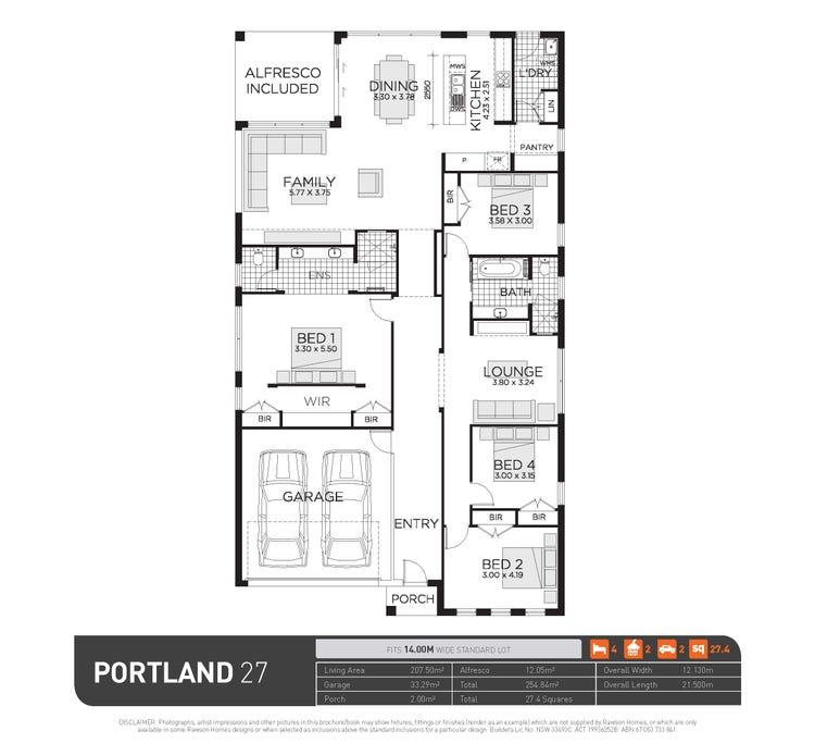 Portland 27   Elite Facade Floor Plan