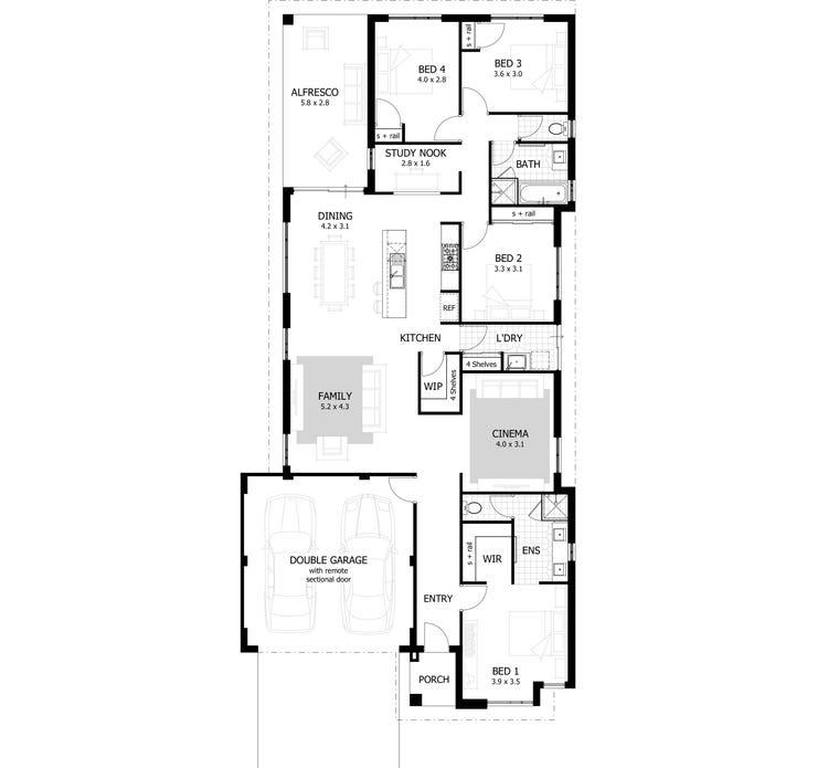 The Loren Floor Plan