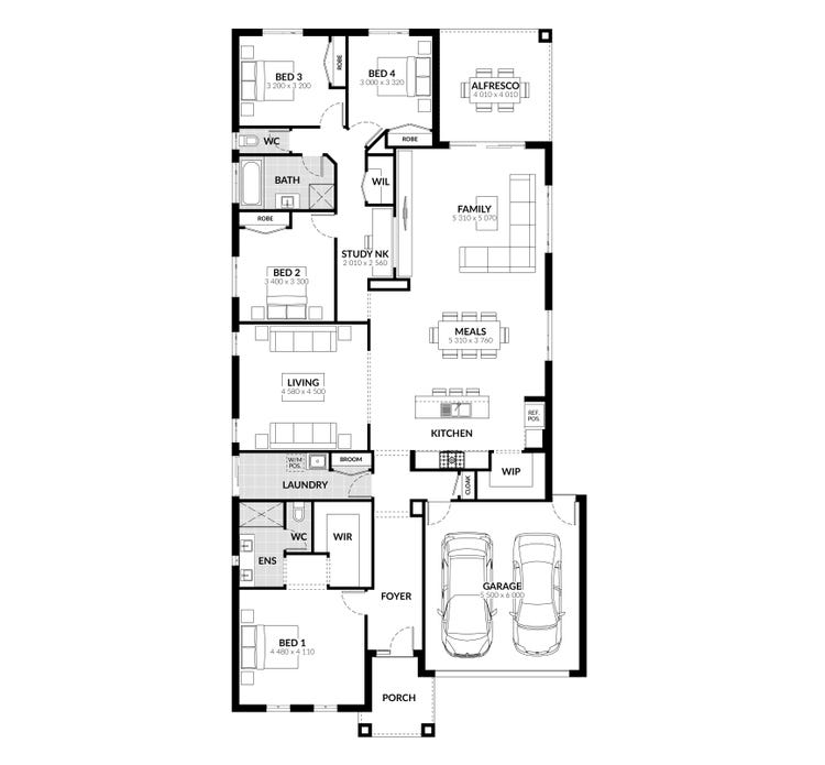 Byron Floor Plan