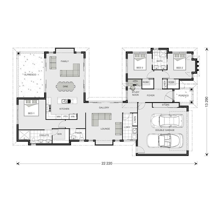 Mandalay Floor Plan