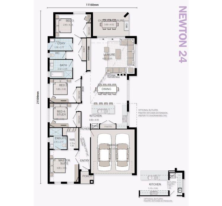 Newton Floor Plan