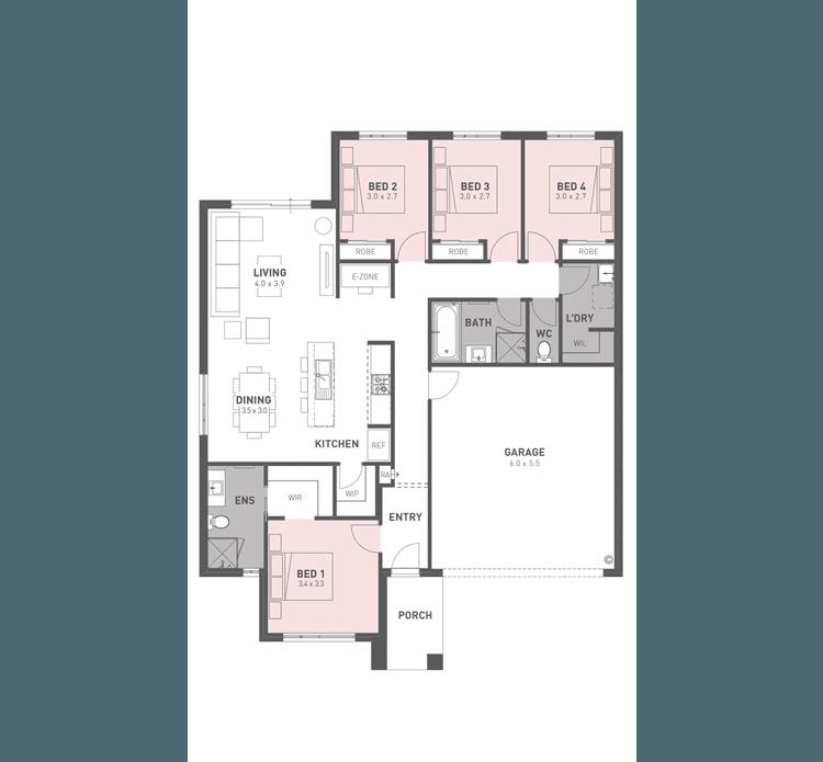 Harper 19 Floor Plan