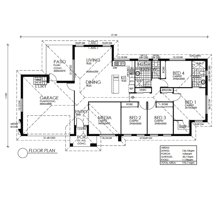 Archer Floor Plan