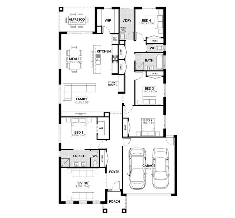 Belmore Floor Plan