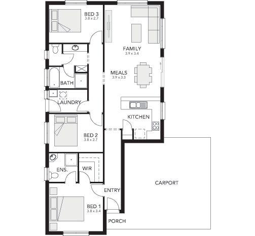 Aldinga Floor Plan