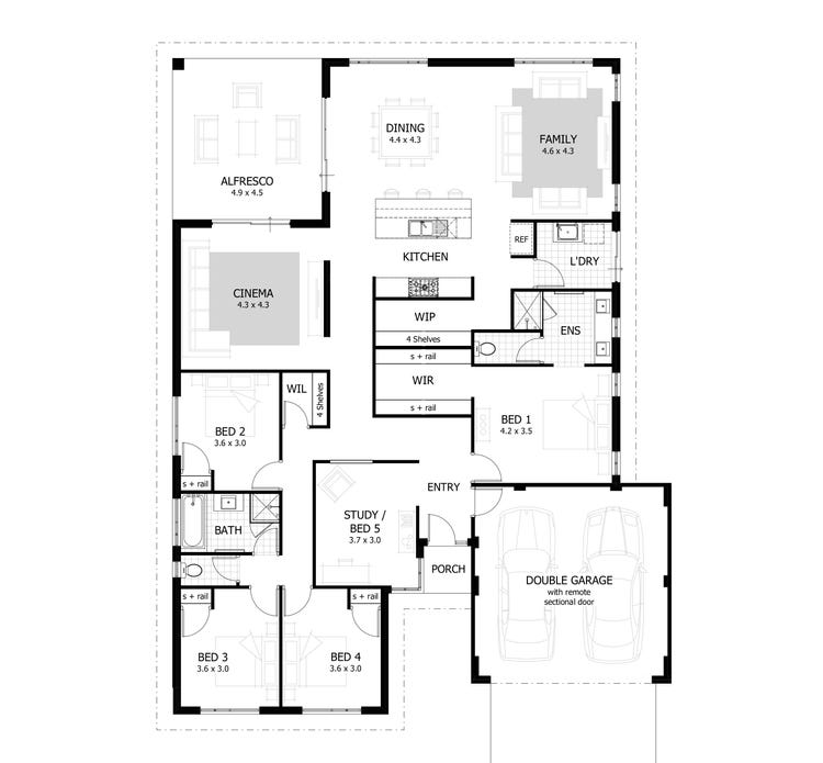 The Lawrence Floor Plan