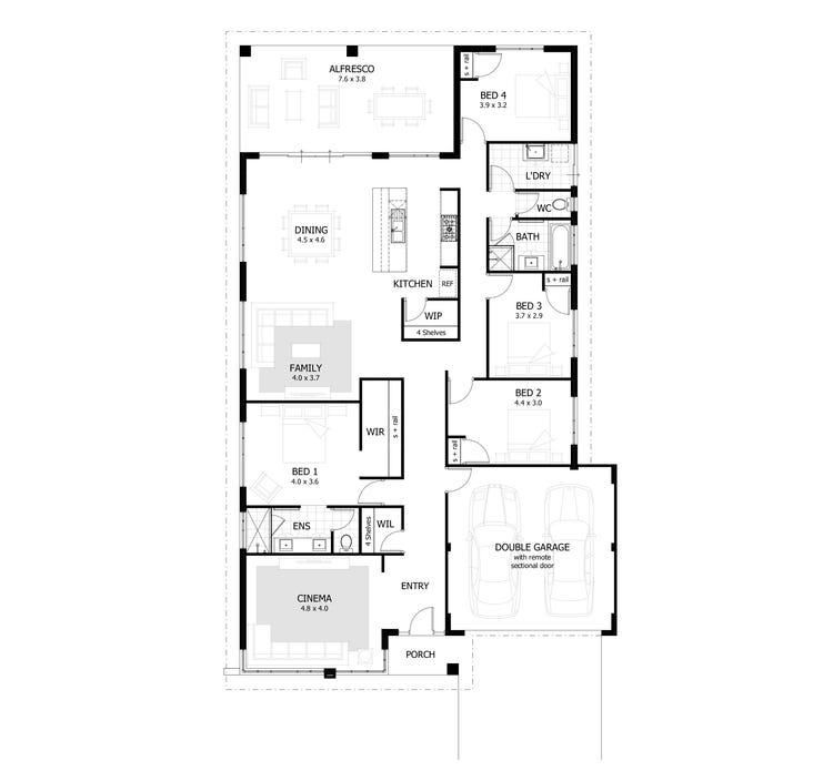 The Chapman Floor Plan