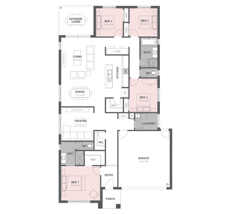 Lawson 25 Floor Plan