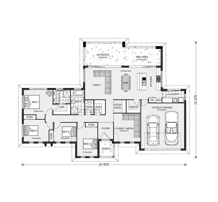 Stillwater Estate Floor Plan