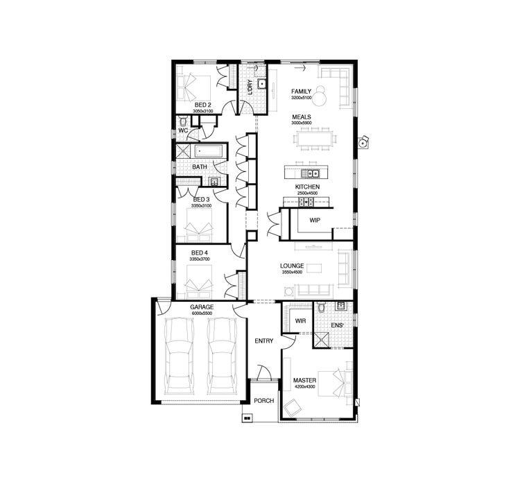 Bulbarin Floor Plan