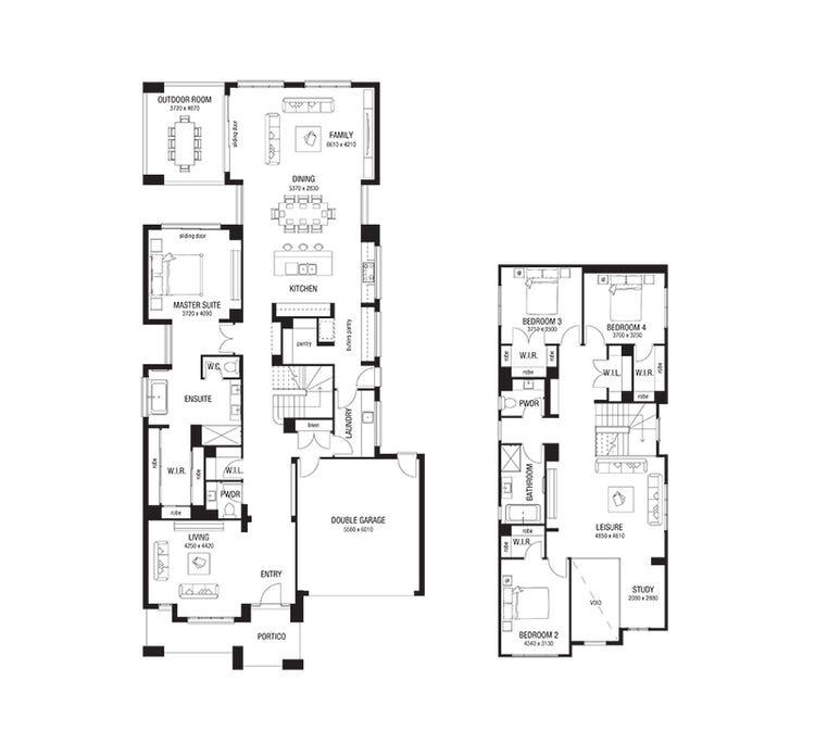 Bayville Floor Plan