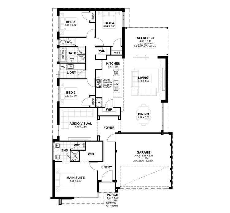 Calleya S2 Floor Plan