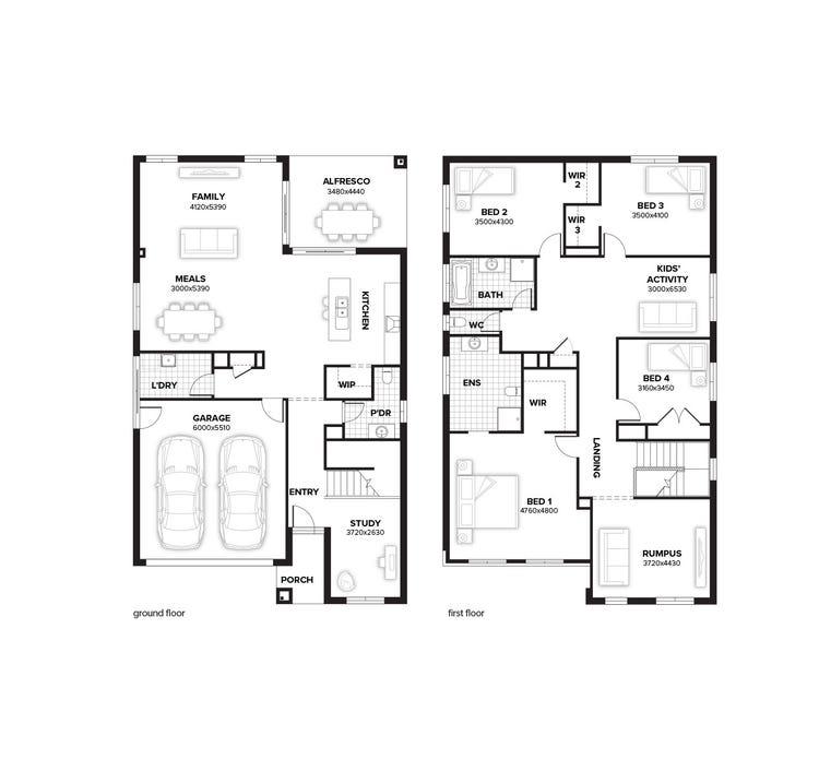 Hawthorn Floor Plan