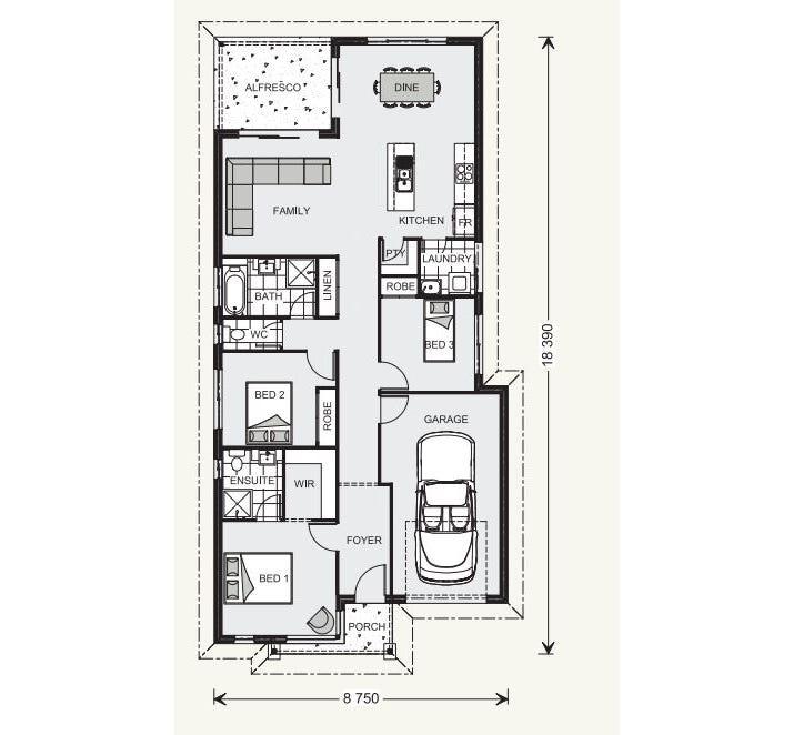 Kurrajong Floor Plan