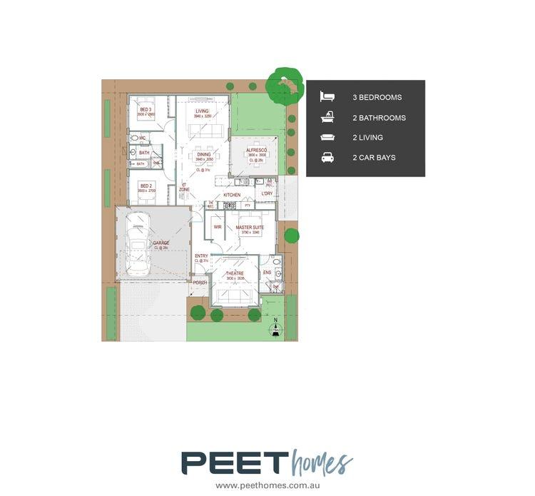 Laurel   15 X 20m Floor Plan