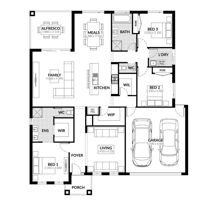 Johnston Floor Plan