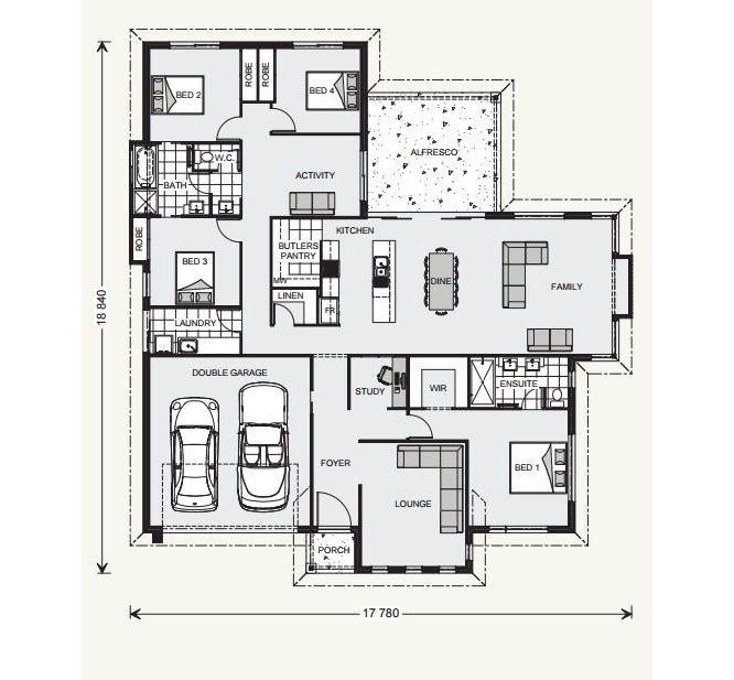Fernbank Floor Plan