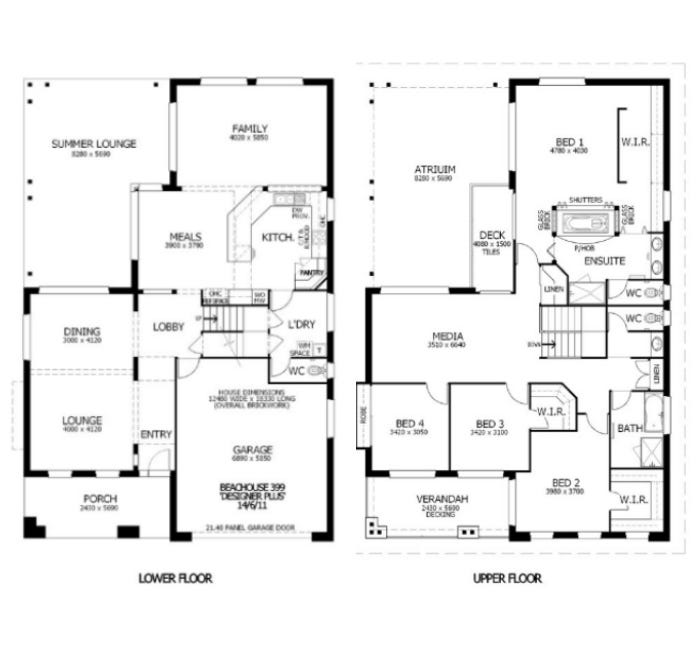Design & House Plan by Perry Homes