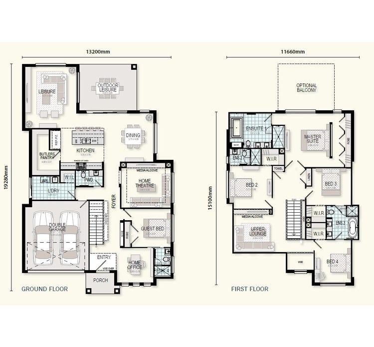 Monte Carlo Floor Plan