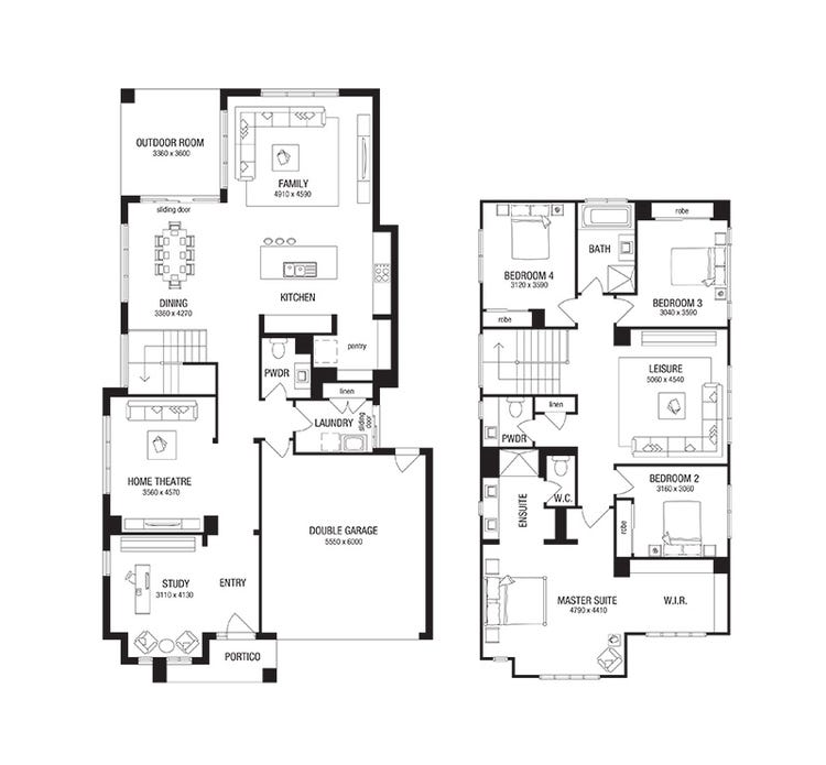 Vantage Floor Plan
