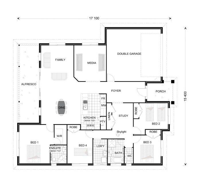 Broadbeach Floor Plan