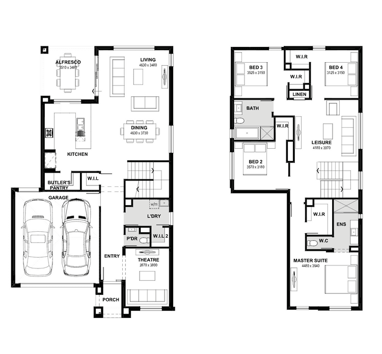 Ashbury 29 Floor Plan