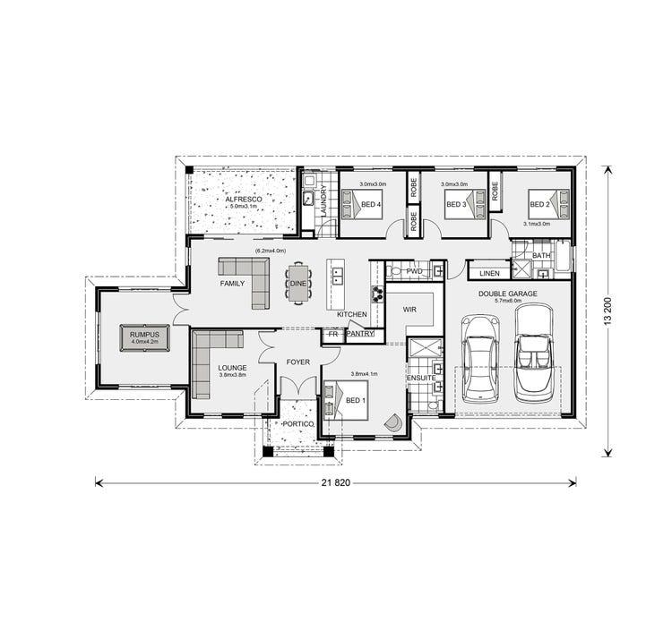 Oakdale Floor Plan