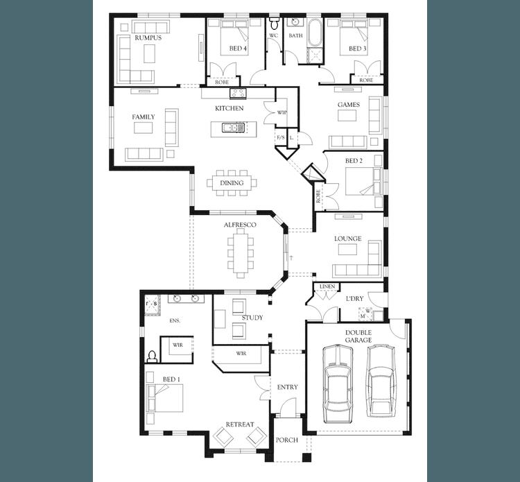 Sandhurst Home Design & House Plan By Eden Brae Homes