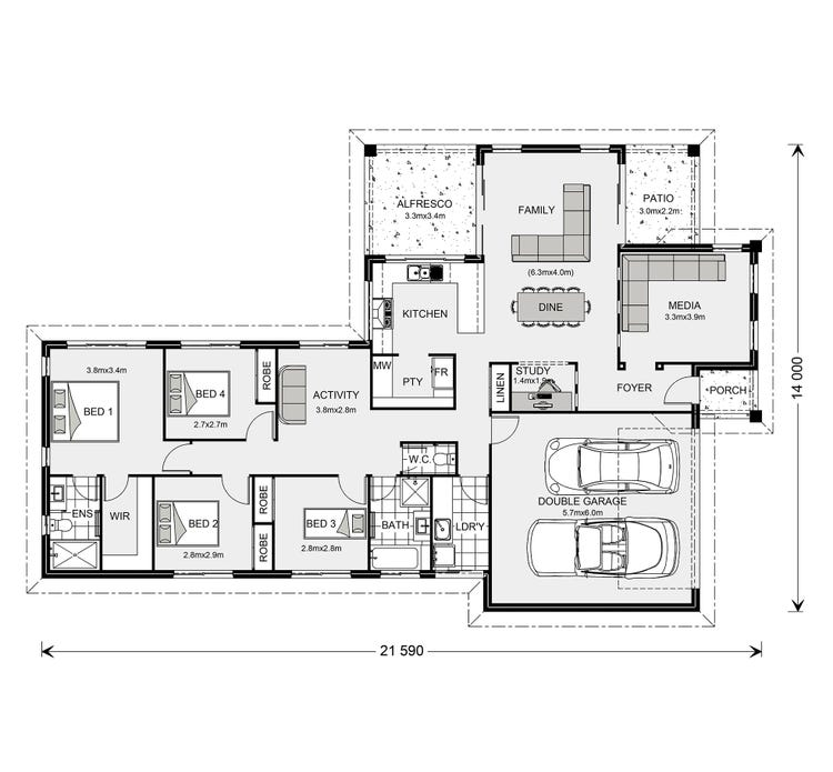 Parkview Floor Plan