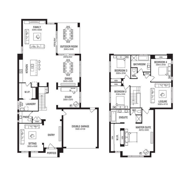 Whittaker Floor Plan