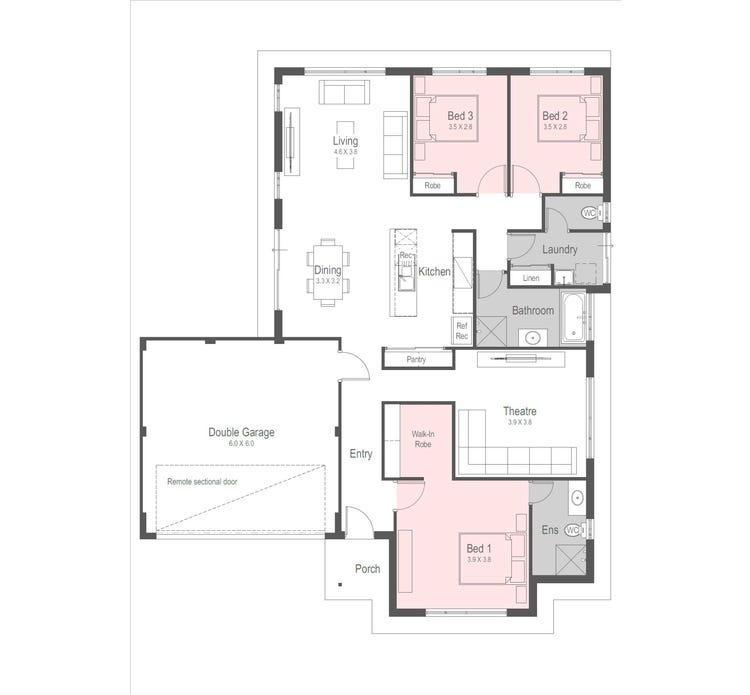 Empire Floor Plan