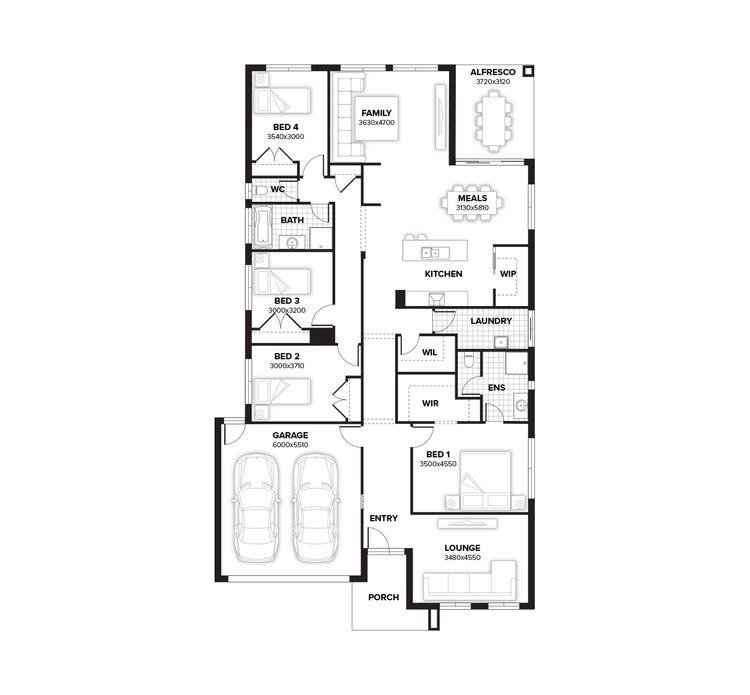 Thornbury Floor Plan