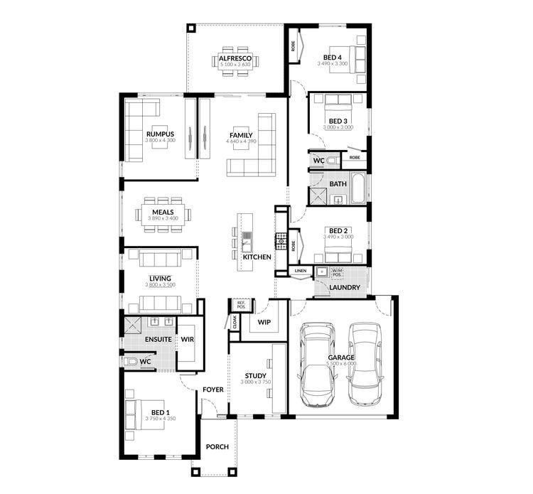 Adelphi Floor Plan