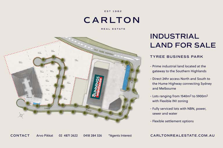 TYREE BUSINESS PARK, 9 Tyree Place Braemar NSW 2575 - Image 2