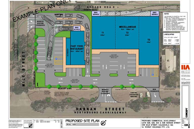 526 - 536 Hannan Street Kalgoorlie WA 6430 - Floor Plan 1