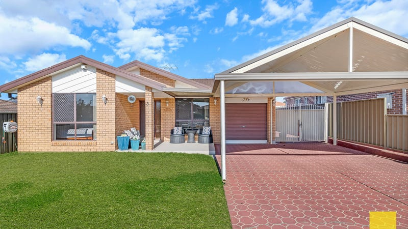 3 Aminta Cres, Hassall Grove, NSW 2761