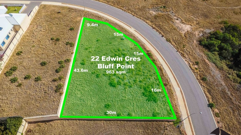 22 Edwin Cres, Bluff Point, WA 6530