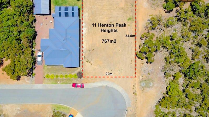 11 Henton Peak Heights, Mount Barker, WA 6324
