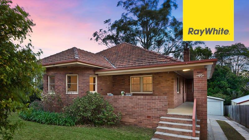 45 Dunlop Street, Epping, NSW 2121