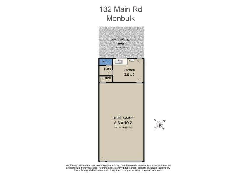 132 Main Road Monbulk VIC 3793 - Floor Plan 1