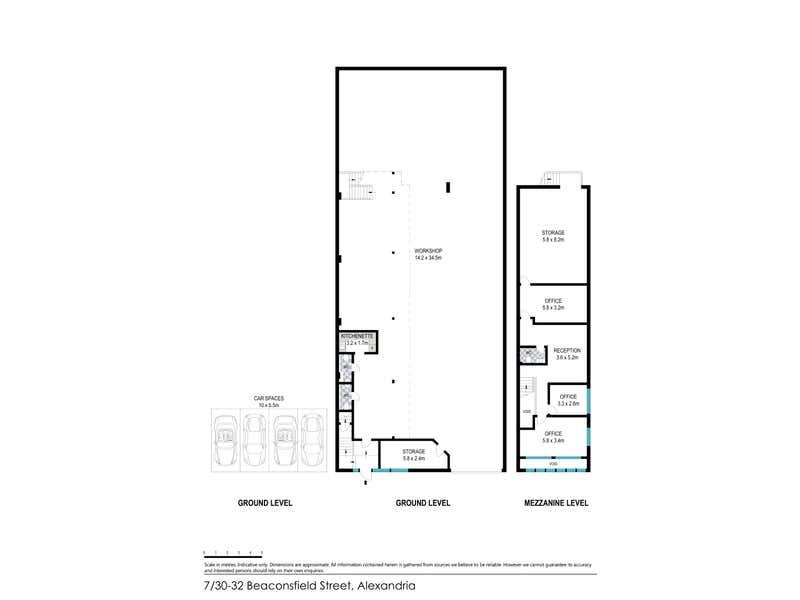 7/30-32 Beaconsfield Street Alexandria NSW 2015 - Floor Plan 1