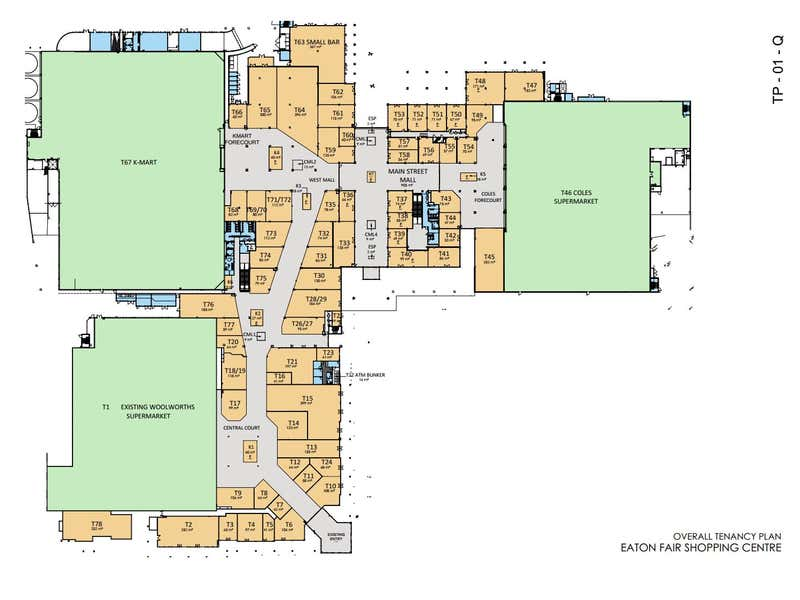 Eaton Fair Shopping Centre, 10 Council Drive Eaton WA 6232 - Floor Plan 1