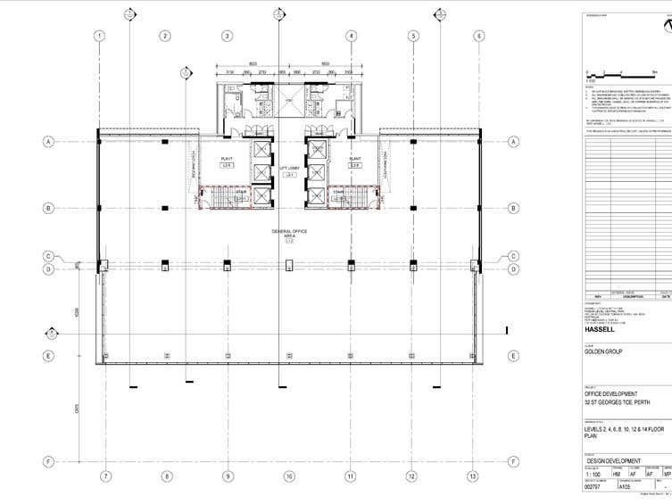 Golden Square, 32 St Georges Terrace Perth WA 6000 - Floor Plan 2