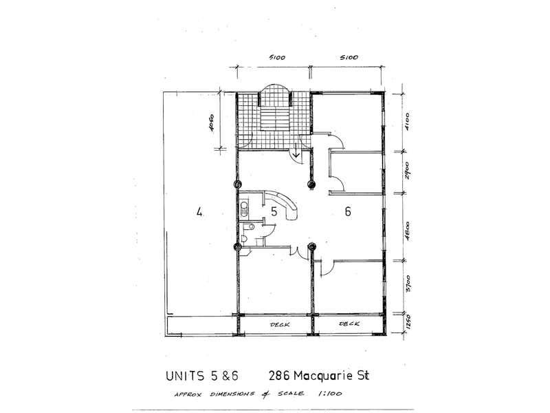 5 & 6/286 Macquarie Street South Hobart TAS 7004 - Floor Plan 1