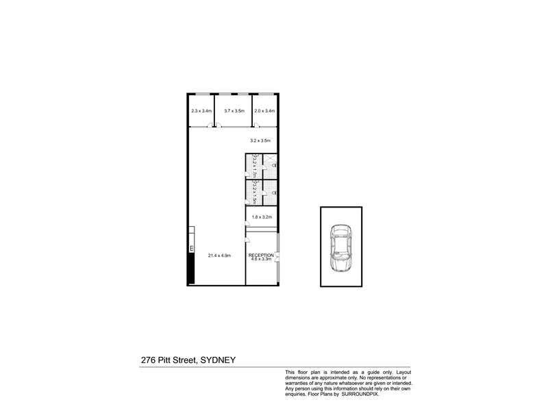102/276 Pitt Street Sydney NSW 2000 - Floor Plan 1