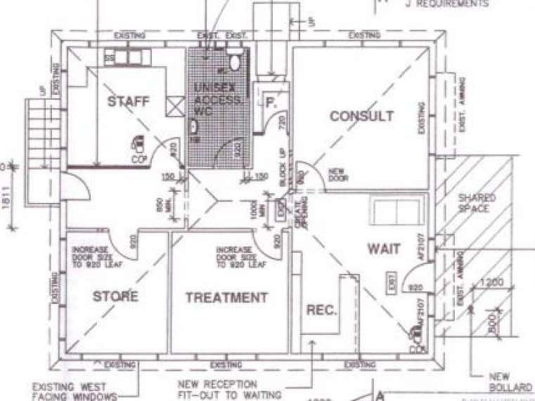 Professional Rooms, 65 South Street Ulladulla NSW 2539 - Floor Plan 1