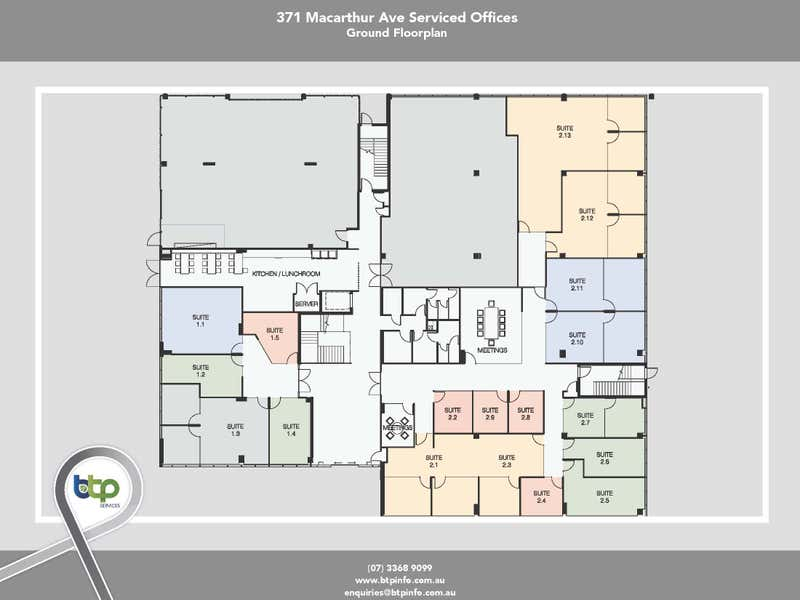 2.5, 371 MacArthur Avenue, Hamilton, 2.5, 371 MacArthur Avenue Hamilton QLD 4007 - Floor Plan 1