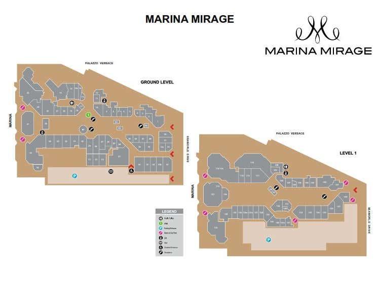Marina Mirage, 74 Seaworld Drive Main Beach QLD 4217 - Floor Plan 1