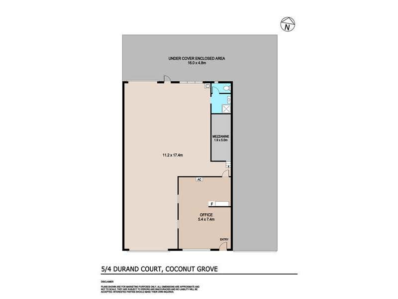 5/4 Durand Court Coconut Grove NT 0810 - Floor Plan 1